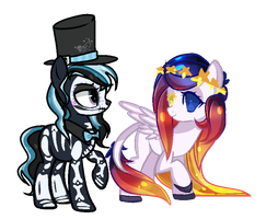 collab thing by luminishi