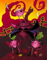 Count Beet And Children by grelin-machin