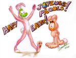 Happy Easter Joyeuses Paques by WinkGuy1