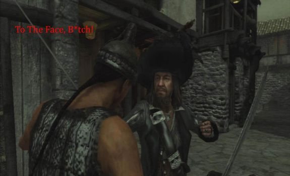 To The Face! by Capt-HectorBarbossa