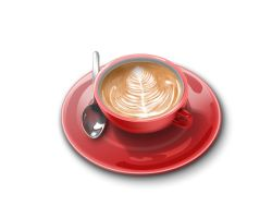 Coffee 3D design 2 by CARFillustration