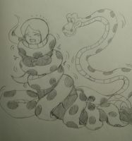 kaa squeeze vanseea from phineas and ferb by kaitakuan