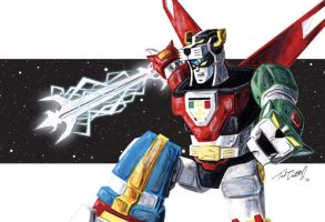 Voltron: United and Drawn by tdastick