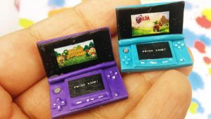 Miniature Nintendo 3DS by NerdEcrafter