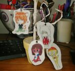 -PC- Set of Keychains by candiiapple101