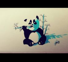 Panda Flash tattoo by RemiisMeltingDots
