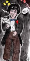 Second Doctor in colour by AlixPaugam