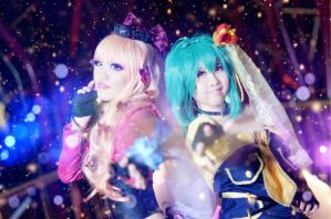 Macross Frontier - Songstresses by itsmejunko