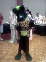 Fursuiter at Nashicon 2011 by Kyuubichowderfan