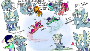 THIS IS ME DRAWING PONIES by BatLover800