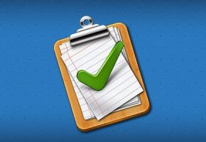Tick Mark Approved Clipboard Icon (PSD) by softarea