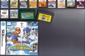 All my Ds games by Kairiwolf14
