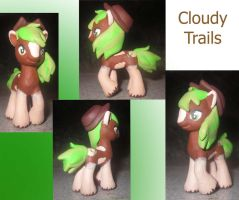 MLP: Cloudy Trails by noonetells