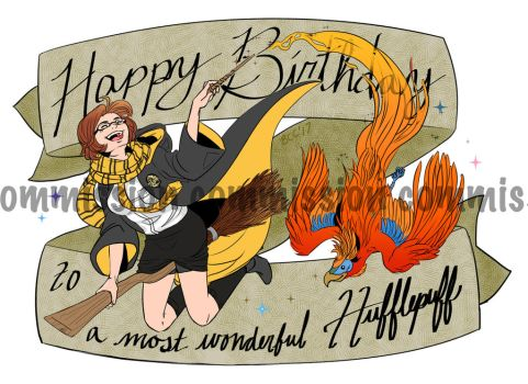 HP Birthday Commish by BleachcakeCosplay