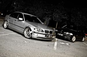 E46 Group Shot by anind