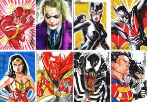 Comissioned sketchcards 4 by MarcFerreira