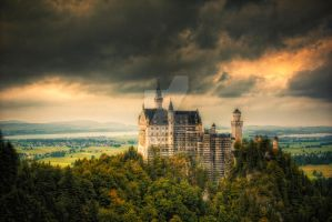 Neuschwanstein - HDR by manganite