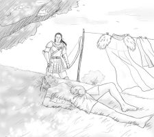 Anders end Nathaniel laundry by Lilithblack