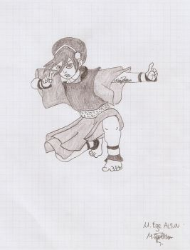 Charcoal Toph   Avatar by MEAltair