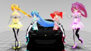 MMD Love Gear Racing 2012 Pack DL by Spartan-743