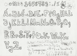Two fonts sketches by Angi-Shy