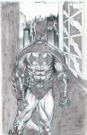 Batman pencils by RNABrandEnt