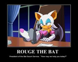 Rouge the Bat by alleycatwoman127