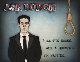 Tumblr- Ask Lurch by IsabellaPrice