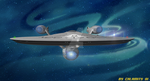 Reimagined USS Enterprise NCC-1701-A : 1 by calamitySi
