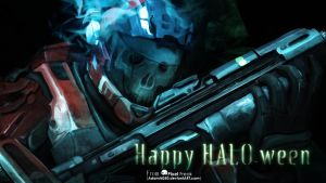 Happy HALOween by TheAdamTaylor