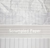 Scrumpled Lined Paper by TehAngelsCry
