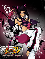 FanArt Street Fighter, JURI by Natachouille