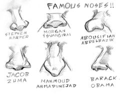 Famous Noses by NezumiWorks