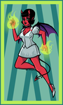 Nurse Diabolique by BleedBackAviArt