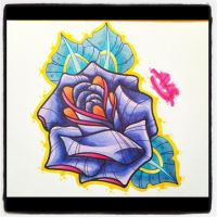 New School Flower by paintball0531