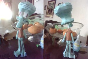 SQUIDWARD TENTACLES by javierini