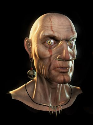 3d VooDoo head by Akuma1x - Dev Avatar Ar�ivi