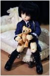 My teddy bear by Darysia
