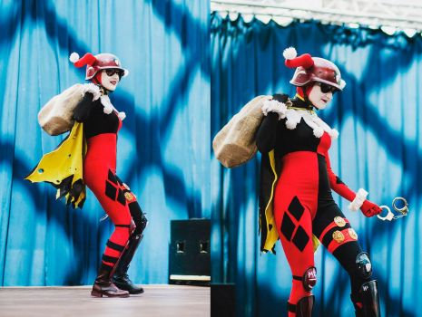 DCUO Harley (stage) by Lady-I-Hellsing