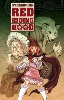 Steampunk Red Riding Hood Cover by RodEspinosa