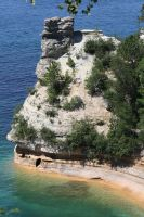 Pictured Rocks by loraleidarkchylde