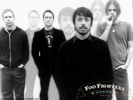 Foo Fighters by linkinDarkShadow