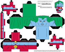 Cubee -  Captain Planet by CyberDrone