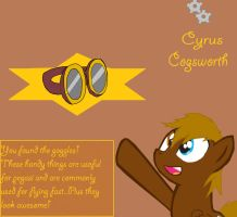 Cyrus Cogsworth by ky390