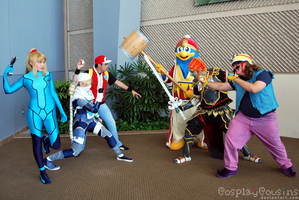 3 2 1 GO by CosplayCousins
