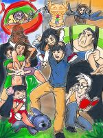 Lilo and Stitch and Jackie Chan adventures  2 by Sciff3