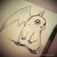 .:Patamon:.  by NiciDraw
