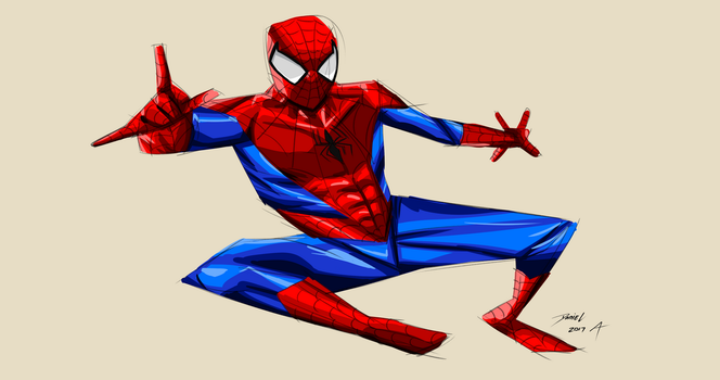 Day 295-Spiderman 23 by Dan21Almeida95
