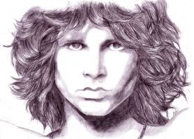 Jim Morrison by Avia-Eyal