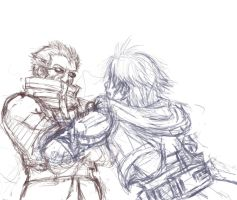 FFX Sketch by BaiHu27